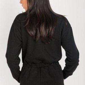 Brunette The Label Farrah jumpsuit sweatpants s/m